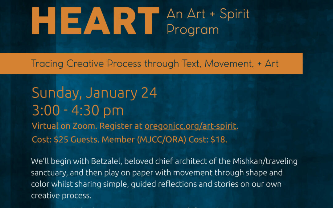 Art +Spirit 2021 Program